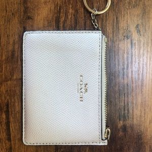 Coach coin & credit card wallet